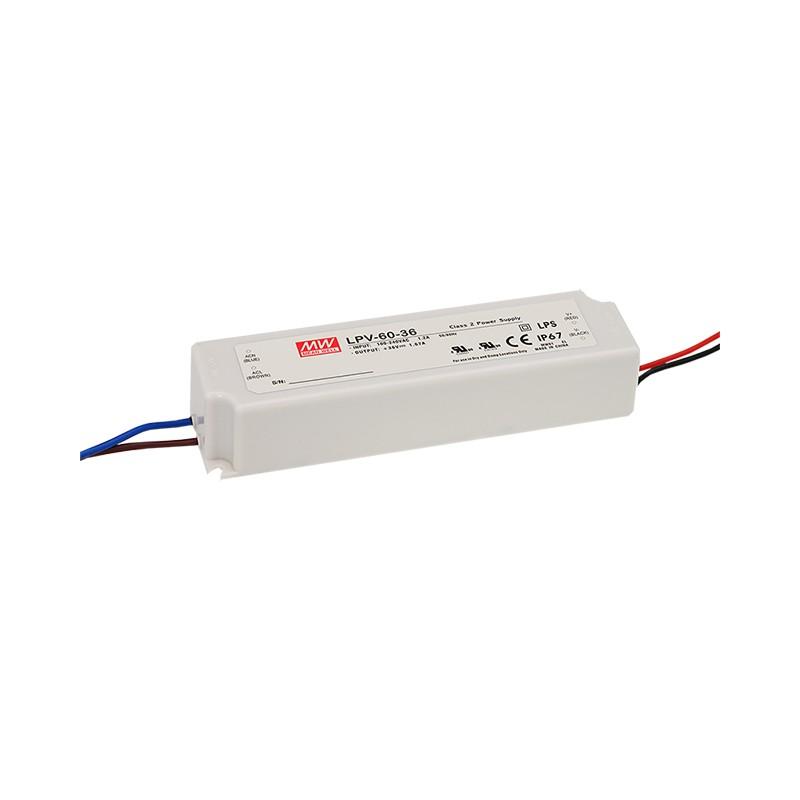 Mean Well Napajanje 24V 60W IP67 (LPV-60-24)