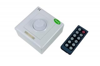 Dimmer za LED trake (jednobojne) 12 tipki (IR)