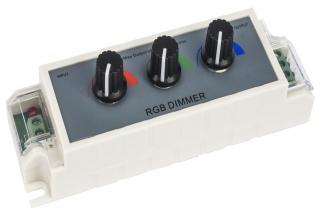 Dimmer za LED trake 3-kanalni analogni