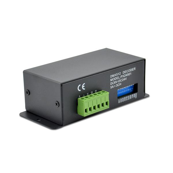 LED RGB DMX Dekoder 6-24V