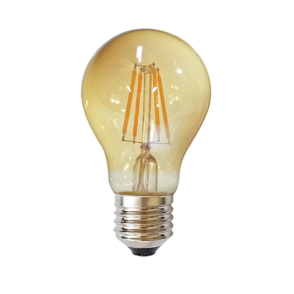 Edison A60 E27 LED 6W Amber