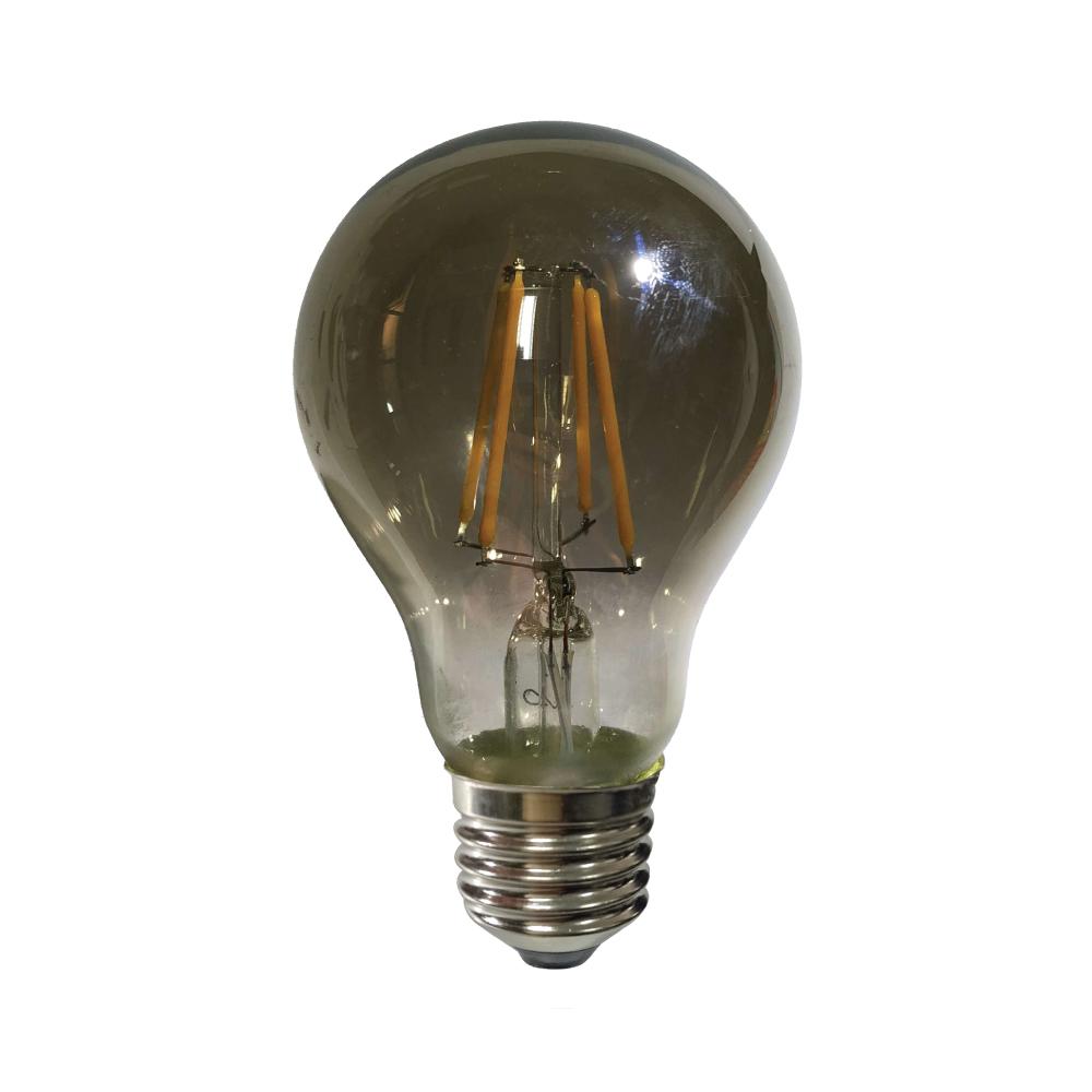 Edison A60 E27 LED 6W Smoke