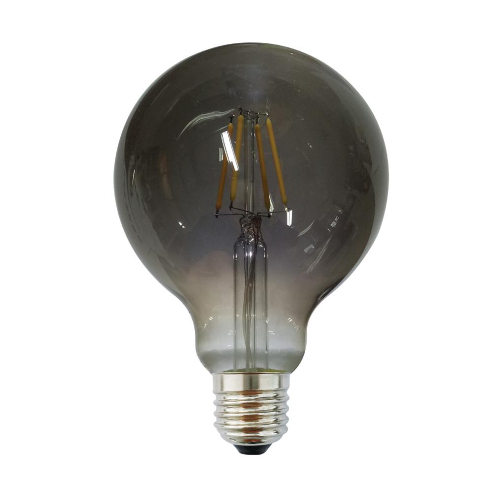 Edison G125 E27 LED 6W Smoke