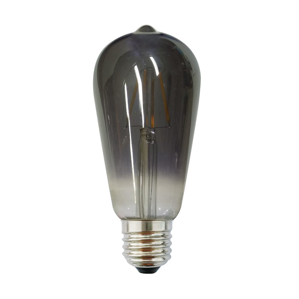 Edison ST64 E27 LED 6W Smoke