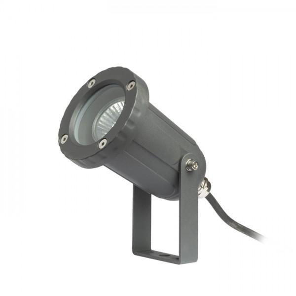 HEAVY DUTY vanjski reflektor antracit  230V GU10 50W IP65