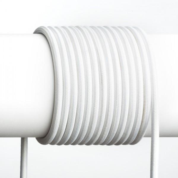 FIT 3×0,75 1bm textilni kabel crna/bijela